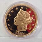 1854-S Double Eagle Gold Coin American Classics Collection