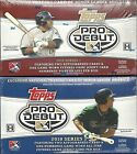 2010 Topps Debut Minor League Factory Sealed 2 Box Lot (Series 1