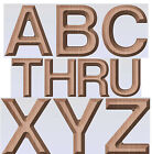 Alphabet letters g code a complete 3 inch tall set 3 4 inch thk