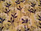 Metro Studio 8 Coordinating Print BTY Quilting Treasures Floral on Gold