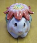 Fitz and Floyd Essentials Be-Bop Bunnies - Bunny Blooms Box w/Lid