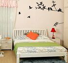 Birds&Black Tree Branch Mural Wall Sticker Removable Vinyl Art Decal Home Decor