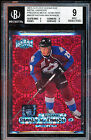 2013-14 FLEER SHOWCASE METAL NATHAN MACKINNON PMG 23 75 PRECIOUS METAL GEM BGS 9