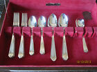 SHERWOOD PURE SILVER PLATE CUTLERY SET OF 8