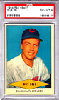 1954 Red Heart Gus Bell PSA NM-MT 8