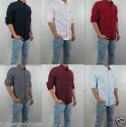 NWT AF Abercrombie  Fitch Men Ranney Trail Classic Oxford Plaid Shirt Hollister