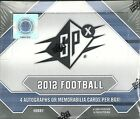 2012 SPx Factory Sealed Football Hobby Box 4 HITS Luck & Griffin RC ?