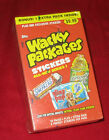 WACKY PACKAGES ANS1 RARE SEALED BONUS BOX @@ COACH MOTEL @@