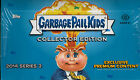2014 Garbage Pail Kids Series 2 Collector Edition Hobby Box (4 Hits Per Box)