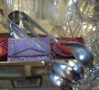GORHAM SILVER OLD FRENCH SERVING  Lrg ICE TONG / SALAD TONG SETS 1 PAIR of TONGS