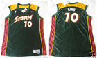 WNBA SUE BIRD Rookie Authentic Team Issued Seattle Storm signed Jersey