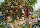 Puzzlelife JIGSAW Puzzle 500pcs Flower Garden Hobby DIY Decoration Gift Assembly