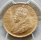 1913 GOLD CANADA $10 KING GEORGE V PCGS MINT STATE 63 CANADIAN GOLD RESERVE