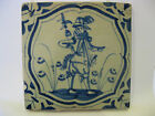 Antique Dutch Delft Tile rare Tiles 17th century -- free shipping