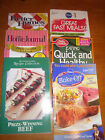 Lot of 6 Recipe Cook Booklets/Pamphlets, Betty Crocker, Pillsbury, BHG, Country