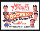 2014 Topps Heritage High Number Baseball Hobby Factory Sealed Box Set