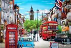 Puzzlelife JIGSAW Paper Puzzle 1000pcs London Hobby DIY Decoration Gift Assembly
