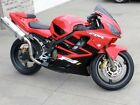 Red Black Complete Injection Fairing Kit for 2001 2002 2003 HONDA CBR 600 F4i