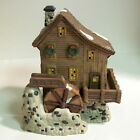 Heartland Valley Village Deluxe Porcelain WATER WHEEL MILL House