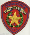 Jim Wells County Constable Sheriff State TEXAS TX Police Patch