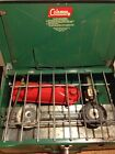 Coleman Green Two 2 Burner Camp Campers Stove 425e 425e499 USA