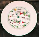 Lenox SLEIGHRIDE Debut collection Retired Bone China Bread & Butter Salad Plate