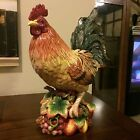 FITZ & FLOYD COUNTRY GOURMET LARGE ROOSTER - 17-1/2