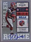 2010 Panini Playoff Contenders Rookie Ticket C.J. Spiller On Card Auto Rc