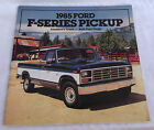 Vintage 1985 FORD F-SERIES PICKUP TRUCK BROCHURE CATALOG Free Shipping