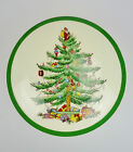 Spode Christmas Tree Round Lidded Candy Dish Holiday Xmas England