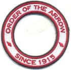 Order of the Arrow Centennial Since 1915 World Crest Ring Private/Non BSA T3 Whi