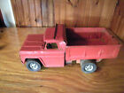VINTAGE RED PRESSED STEEL Structo ? TONKA ? BUDDY L ? TOY DUMPTRUCK 50s?