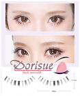 015 5 Pairs superfine pointing tip natural lower eyelash barbie doll middle