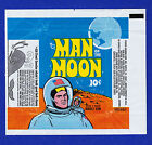 1969 TOPPS MAN ON THE MOON WAX WRAPPER - NICE!