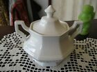 Johnson Brothers Heritage White  Sugar Bowl  Excellent Condition!