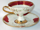 Vintage 1950's Westville iridescent fine china Cup & Saucer Japan  ship at cost