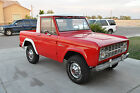 Ford  Bronco Base 1966 ford bronco factory ford a c with fiberglass half cab