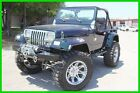 Jeep : Wrangler Custom Jeep Wrangler 4X4 SuperCharged 1991 jeep wrangler supercharged custom sho stopper