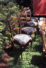 Set of Six Thonet Mundus Bentwood Cafe Chairs, Upholstered Seats