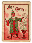 Vintage (1930's?) Age Cards - Guess Your Age - Like Magic? Germany (Pre-WWII)