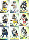 Aaron Rodgers Andrew Luck 2014 Topps Platinum football card lot first 100 cards