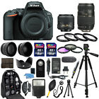 Nikon D5500 Digital Camera + 18 55mm VR + 70 300mm + 30 Piece Accessory Bundle