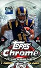 2013 Topps Chrome Football Factory Sealed Hobby 3 Box Lot Fresh from Case HOT!