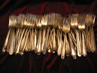 Vintage Silverplate Salad Dessert Forks Lot of 50 Table or Craft Flatware
