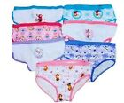 Disney Frozen Anna Elsa and Olaf Girls' Hipsters Panties Underwear Size 6 and 8
