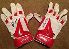 Mike Trout Anderson Authentics Game Used Autographed Batting Gloves 2014 Angels