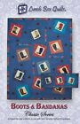BOOTS AND BANDANAS CLASSIC SERIES QUILTING PATTERN, Fun Applique Quilt NEW