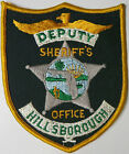 Hillsborough County FLORIDA Sheriff's Office Embroidered Uniform Patch NOT SEWN