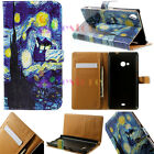 Night Sky Luxury Flip wallet Card Leather Case Cover Fr LG Sony Samsung Nokia XH