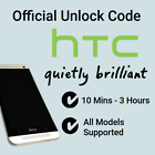 Unlock Code For HTC One First Sensation M9 M8 V VS X X+ XL SV XV MINI 8S 8X